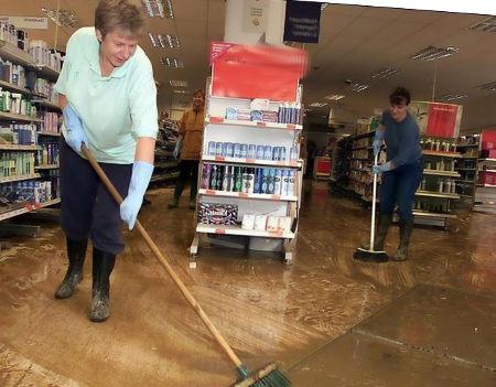 shop flooded